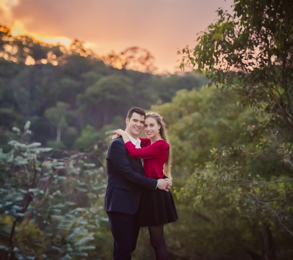 Lithgow Engagement Photography - Charlotte & Tom