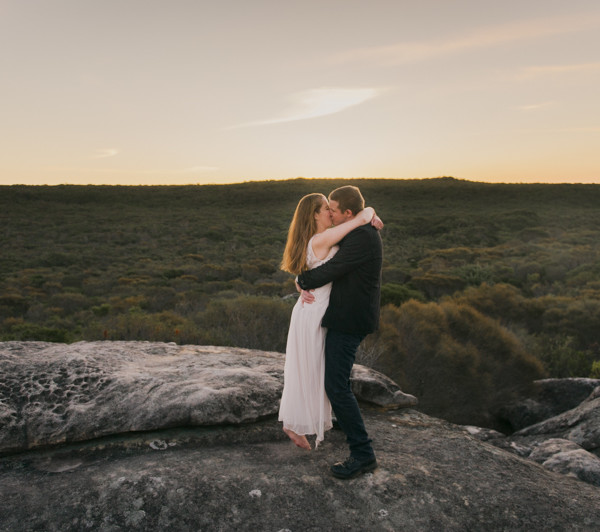 Royal National Park Engagement Session - Lucy & Paul
