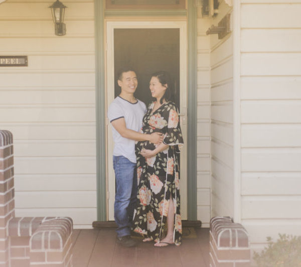 Blue Mountains Baby Bump Photography – Jenny & Kevin