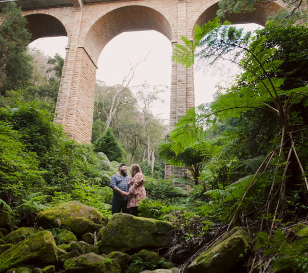 Blue Mountains Engagement Photography - Courtney & Alex