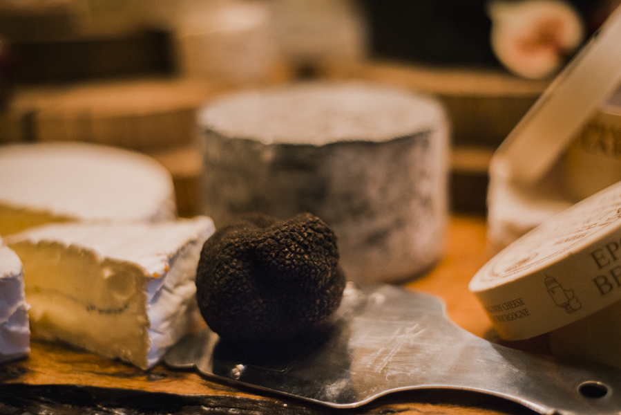Truffle Infused Triple Cream Brie