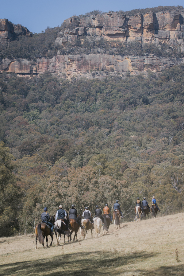 Horse Riding Wolgan Valley Blue Mountains