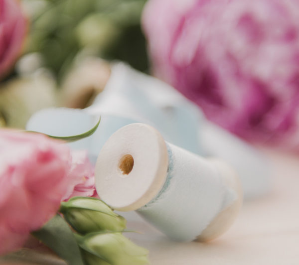 Floral Silk Ribbon - The Coterie